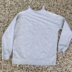 American Eagle open shoulder sweater